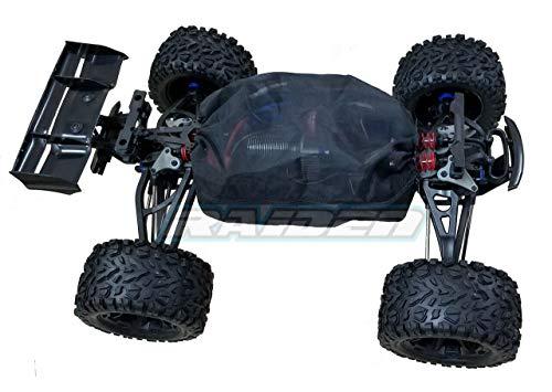Raidenracing Nylon Mesh Chassis Dirt Cover Dustproof Resist Guard for Traxxas 1/10 E-REVO Summit EREVO 2.0