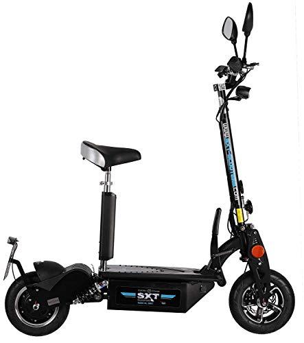 SXT1000 XL EEC Facelift Elektro Scooter schwarz Elektroroller 48V 30Ah Lithium Akku