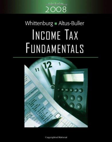 Income Tax Fundamentals (with TaxCut Tax Prep Software)