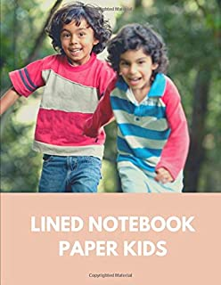 lined notebook paper kids: Notebook lined large : writing tablet grade 3/ writing pads for girls/ lined notebooks for girls/lined paper design/k lined ... for kids grade 1( writing paper with lines)