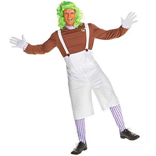 - Oompa Loompa Halloween Kostüm