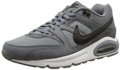 Nike Air Max Command, Scarpe da Ginnastica Basse Uomo, Multicolore (Cool Grey/Black-White), 42 EU
