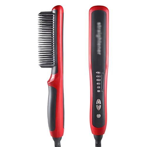 Multifunktionskeramik Elektrischer Haarglätter Bart Glattes Haar Schienenglättungsbrett Locken Friseurwerkzeuge Nicht verletztes Haar