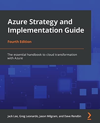 Azure Strategy and Implementation Guide, 4th Edition Front Cover