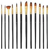 Elisel Paint Brush Set 12 Pcs Paint Brushes for...