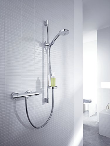 Hansgrohe – Croma 100 Duscharmatur, Thermostatset, Chrom - 3