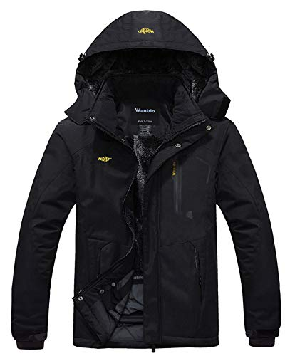 Wantdo Men's Mountain Waterproof Ski Jacket