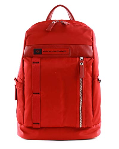 PIQUADRO PQ-Bios Laptop Backpack Rosso
