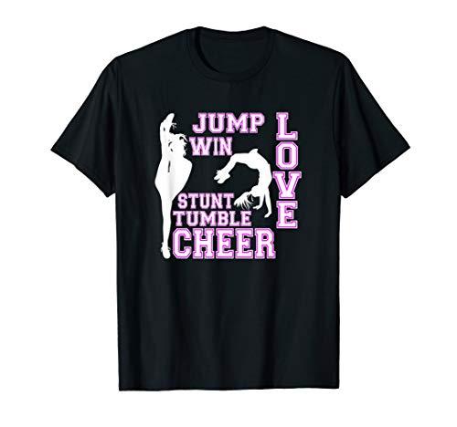 Cheerleading Zitate Love Stunt Tumble Cheerleader T-Shirt
