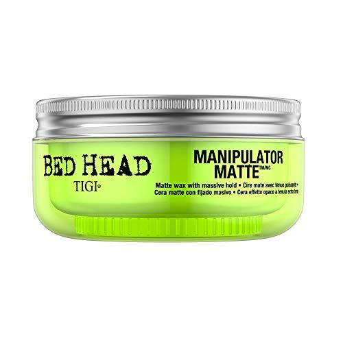 """Tigi, cera a effetto opaco con tenuta extra forte, serie """"Bed Head"""", modello """"Manipulator Matte"""", confezione da 6 (6 x 60ml)"""