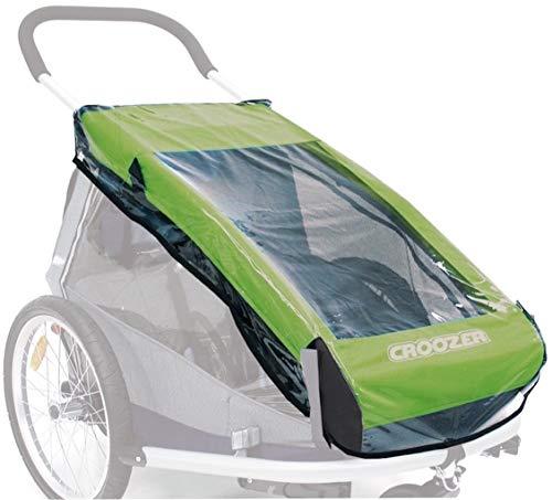 Croozer Unisex– Erwachsene Regenverdeck-3092025300 Regenverdeck, Transparent, One Size