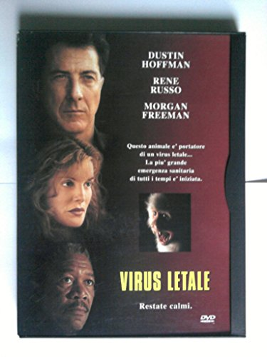 """Virus Letale"" (Snapper Edition, Z8 13632) (Dvd Video) Dustin Hoffman, Rene Russo, Morgan Freeman"