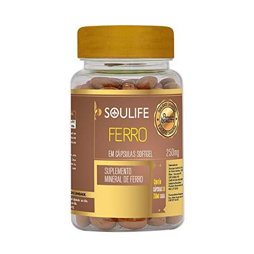 Ferro 250mg - 150 Cáps - Soulife