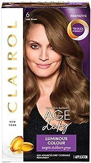 [Clairol ] クレイロール年齢は6ライトブラウンを無視します - Clairol Age Defy 6 Light Brown [並行輸入品]