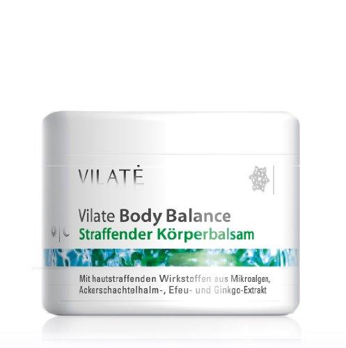 Vilate BodyBalance Straffender Körperbalsam mit Mikroalgenwirkstoff, Efeu und Ginko