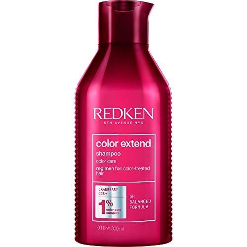 Redken Redken Color Extend Shampoo   For Color-Treated Hair   Cleanses Hair Leaving It Manageable & Shiny   10.1 Fl Oz, 10.1 fl. oz.