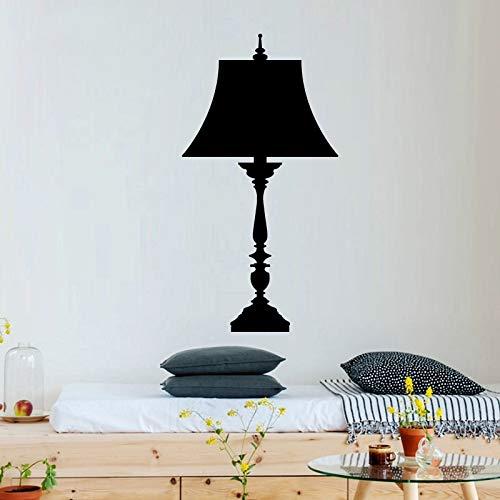 Mooie Vloerlamp Moderne Mode Muursticker voor Woondecoratie Accessoires Vinilos 60x114cm