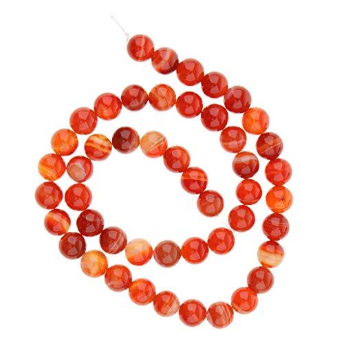 200pcs acrylique ronde or perles d/'espacement À faire soi-même Bracelet Bijoux Perles Findings 8 mm