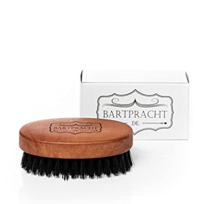 Beard brush, oval, 50 x 90 mm large, 7 rows