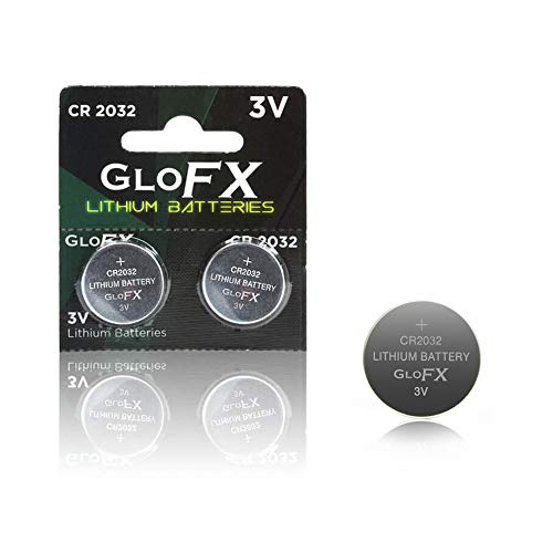 Thermometer Battery CR2032 – 2 Pack - Long Life 3V Coin Button Cell Battery for Thermometers