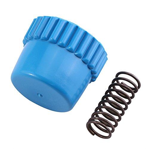Trimmer Bump Knob, Nylon Bump Knob Conjunto De Accesorios De Resorte De Metal Fits para Husqvarna String Trimmer Head # T25, Material Nylon Y Metal