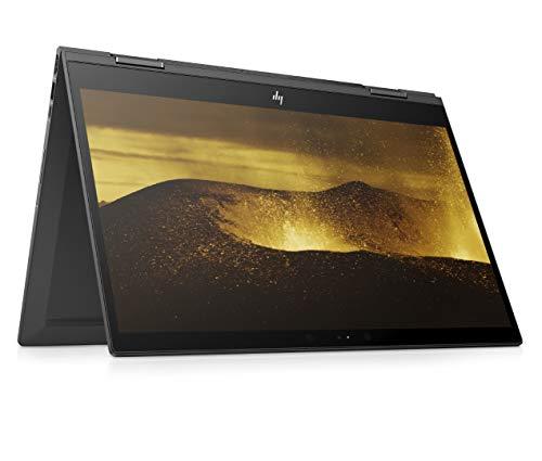 HP ENVY x360 15-cp0005ng (15,6 Zoll Full HD IPS Touchscreen) Convertible Notebook (AMD Ryzen 7 2700U, 8GB DDR4 RAM, 128 GB SSD, 1TB HDD, AMD Radeon RX Vega 10, Windows 10 Home) Dark Ash Silver