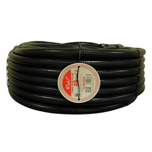 TUBO CORRUGADO 25MM 25 MTS. Tuberia corrugada con Certificado Aenor utilizada para...