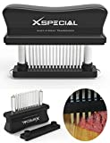 XSpecial Meat Tenderizer Tool 48-Blades Stainless Steel | Easy To Use & Clean -...