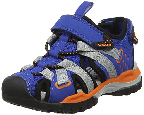 Geox Jungen J BOREALIS BOY B, Blau (Royal/Orange C0685), 30 EU