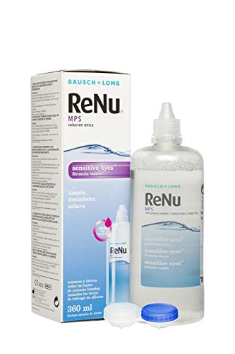 Renu® MPS - Solución Única Multiusos para Ojos Sensibles - 360 ml