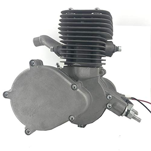 DONSP1986 2 Stroke Yd100 Motor-Silver Color Engine-Gas Motorized Bicycle 100cc