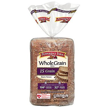 Pepperidge Farm Whole Grain 15 Grain Bread - 24 oz.