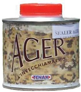 Tenax Ager Color Enhancing Granite Sealer, Marble Sealer, & Stone Sealer - 1/4 Liter
