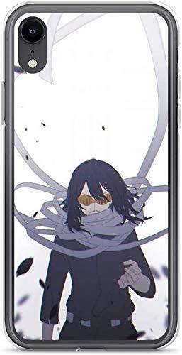 Roadiress Shota Aizawa | My Hero Academia Compatible con iPhone 12/12Pro MAX 12 Mini 11 Pro MAX XR XS/XsMax SE 2020 7 8 6/6s Plus Samsung Series Funda Protectora
