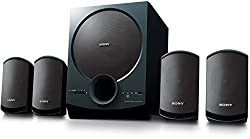 Sony SA-D40 4.1 Channel Multimedia Speaker System with Bluetooth (Black),Sony,SA-D40 C E12,4.1 channel speaker system,Sony SA-D40 C E12 speaker,Sony bluetooth speakers 4.1 channel,Sony speaker,Sony speakers 4.1 channel,bluetooth speakers,speaker bluetooth,usb speaker