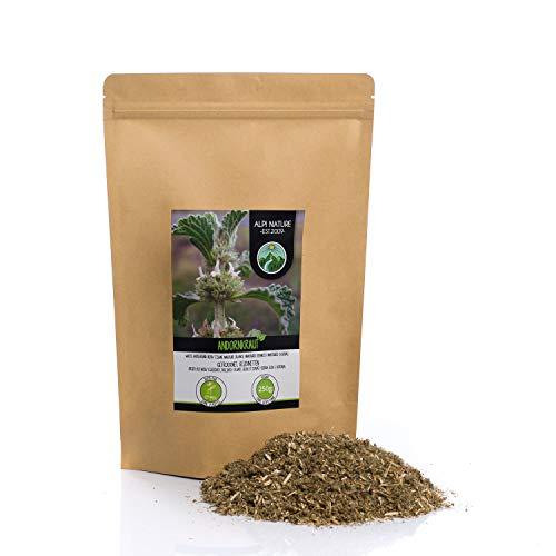 Andorntee (250g), Andornkraut Tee, geschnitten, schonend getrocknet, 100% rein und naturbelassen zur Zubereitung von Tee, Kräutertee