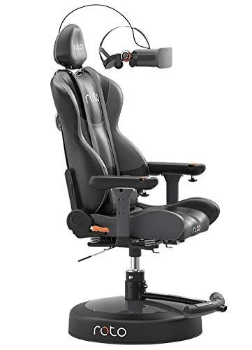 Roto VR Zubehörpaket für den motorisierten interaktiven Gaming-Stuhl - Racing Pack Beistelltische und Desktop-Erweiterung für den ergonomischen Virtual Reality Gaming-Stuhl