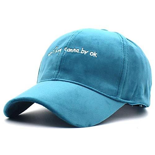 Casquettes de Baseball Adultes et Enfants Lettre Chapeaux de relance pour Femmes Filles Automne Chapeaux Casquette Fashion équipée Bonnet @ Blue_for_Kids