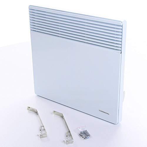 Thermoval Wandkonvektor Elektroheizung Heizgerät Heizkörper (1000W)