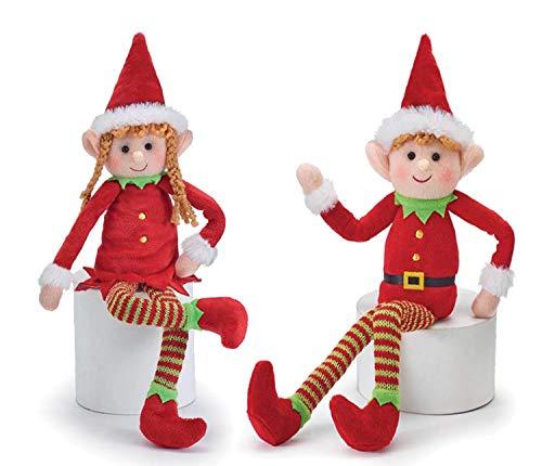 burton+BURTON Weihnachtselfe aus Plüsch (Junge und Mädchen)