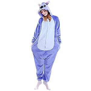 Keral Kigurumi Pijamas Adulto Anime Cosplay de Halloween Traje ...