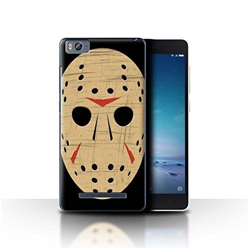 Hülle Für Xiaomi Mi 4C Grusel Filmkunst Jason Vorhees Maske Inspiriert Design Transparent Ultra Dünn Klar Hart Schutz Handyhülle Hülle
