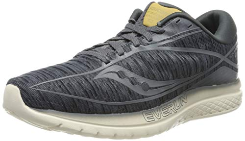 Saucony Kinvara 10, Chaussures de Fitness Homme, Noir Gris, 41 EU