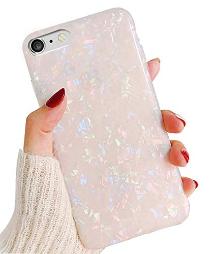 J.west iPhone 6S Case, iPhone 6 Case for Girls, Cute Luxury Sparkle Bling Crystal Clear Slim Flex Bumper Shockproof TPU Soft Rubber Silicone Back Cover Phone Case for iPhone 6 iPhone 6s 4.7 Colorful
