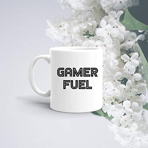 N\A Taza de Jugador Regalos de Combustible de Jugador para él Regalos para Jugadores Regalo de cumpleaños Xbox PS4 Taza para Juegos Regalos para Juegos Taza Regalo para Novio