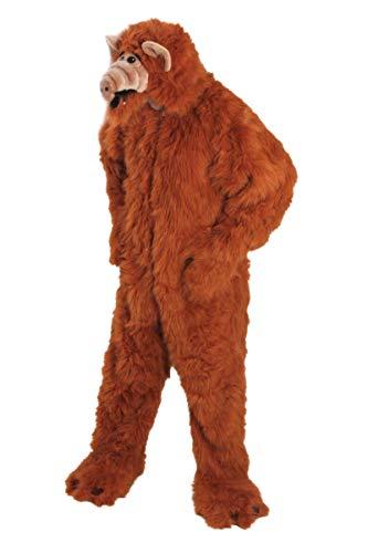 CHAK - Déguisement - d' Alf Extraterrestre en Peluche adulte