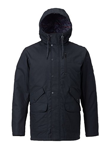 Burton Sherman Jacket Chaqueta, Hombre, Sherman Jacket, True Black, Small