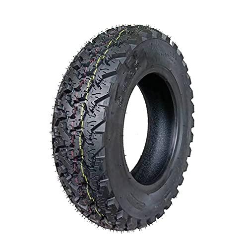Neumáticos de motocicleta, 90/120/130-10/12 Neumáticos de vacío espesados a prueba de explosiones, resistentes y resistentes al desgaste, adecuados para montaña y nieve A campo traviesa,3.50 10