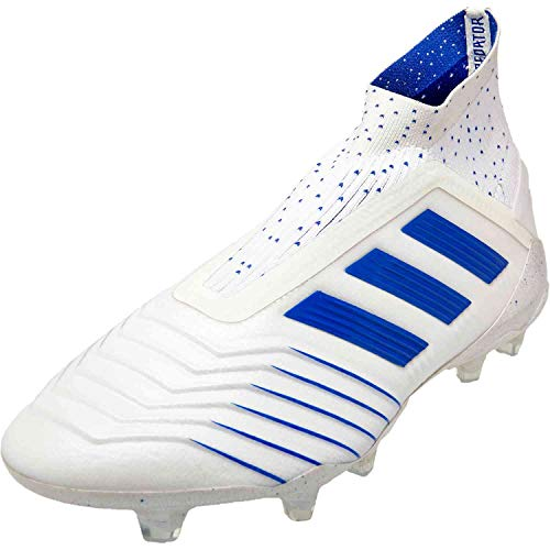 adidas Predator 19+ FG Soccer Cleats (Mens) (11 Mens US) White