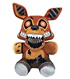 FNAF Plushies - All Characters(7') - -- Five Nights Freddy's Plush: Chica, Springtrap, Bonnie, Marionette, Foxy Plush - Freddy Plush-FNAF Plush-Kid's Toy-Stuffed Animal (Twisted Ones Foxy)